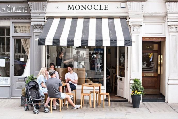 Best coffee shop design MONOCLE CAFE