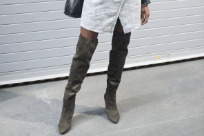 Over The Knee Boot Outfit Ideas
