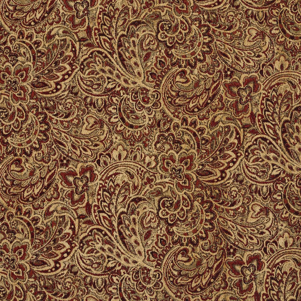 Animal Print Wallpaper Uk Tuscany Coral And Gold Large Floral Chenille Upholstery Fabric