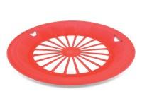 16 Plastic Reusable Paper Plate Holders (Patriotic) - KOVOT