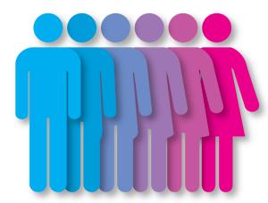 gender spectrum illustration