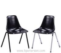 Fiberglass Shell Seat Stacking Chair