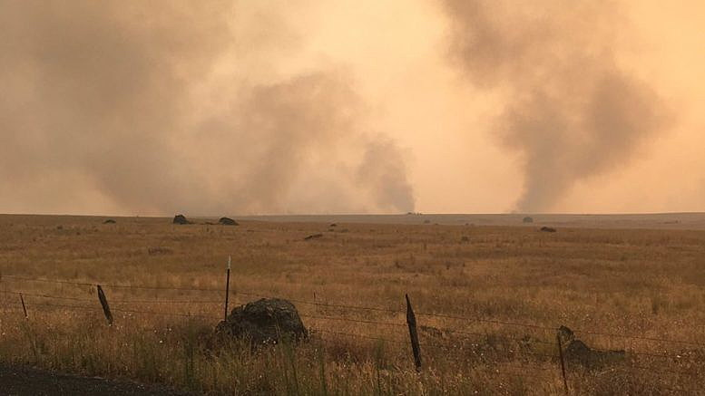 Road P Fire 100 Percent Contained - NewsRadio 560 KPQ - p&l statement example