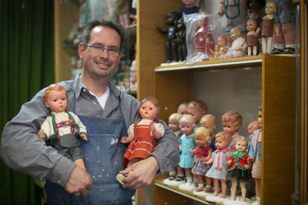 Christian Schneider, Puppen