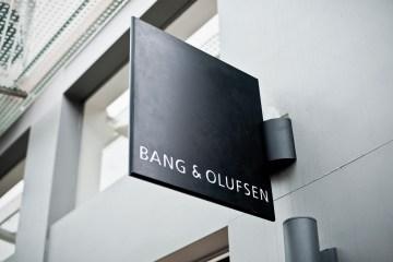 Bang & Olufsen Schild