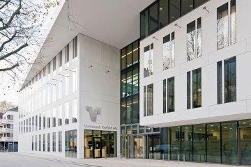 Volksbank Krefeld Filiale außen