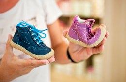 Kinderschuhe, Schuhe, Blau, Pink, Sterne