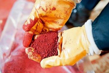 Pigmente, Farbe, Pulver