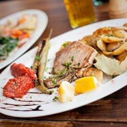 Thunfisch-Filet, Rosmarin, Fisch, Teller