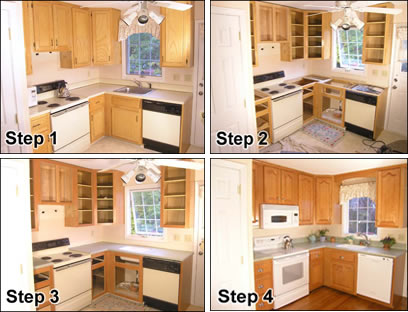 Furniture How Diy Cabinet Refacing ...