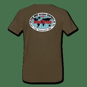 IKM t-shirt ryg (army)