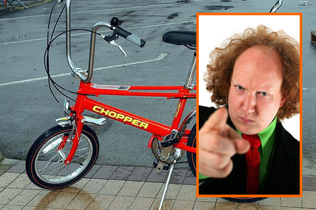 Deal! Andy Zaltzman agrees to be our president (and all he wants for it is a Chopper)