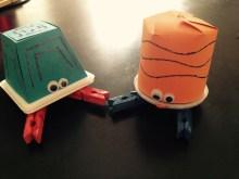 boite crabe pour enfant