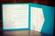 Henna Indian Wedding Invitation