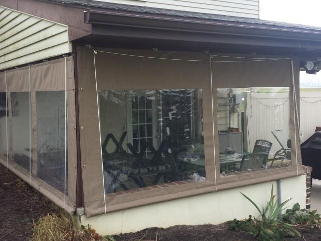 Drop Curtains Enclosures Kreider39s Canvas Service Inc