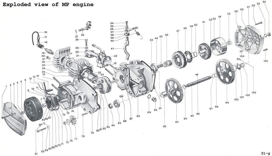 Workshopmanual Kreidler MP Page 8 - Technical Data, Tools