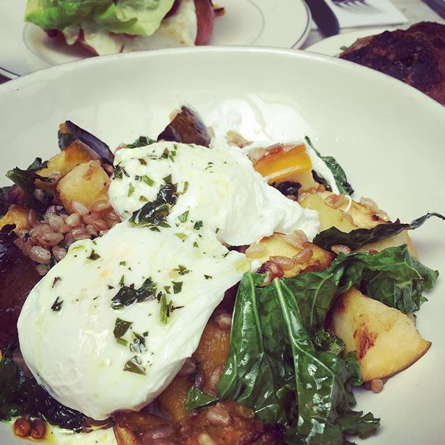 Awesome brunch at Cafe Colette #farmtotable #friendsintown