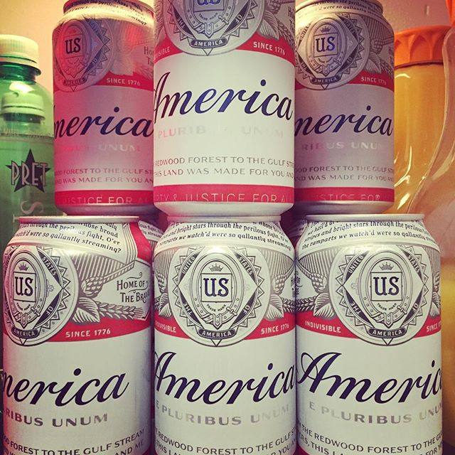 America - in a fridge near you #america #epluribusunum #budweiser #beer #mblm