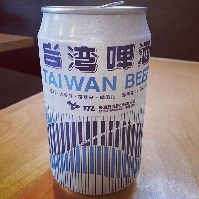 They have the original blue can here #taiwanbeer #daodi