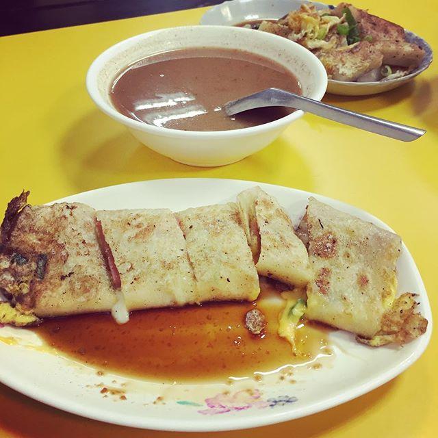 Breakfast #danbing #again