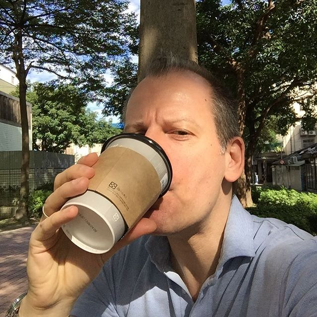 What, another gorgeous day? #84F #taipei #breakfastinthepark