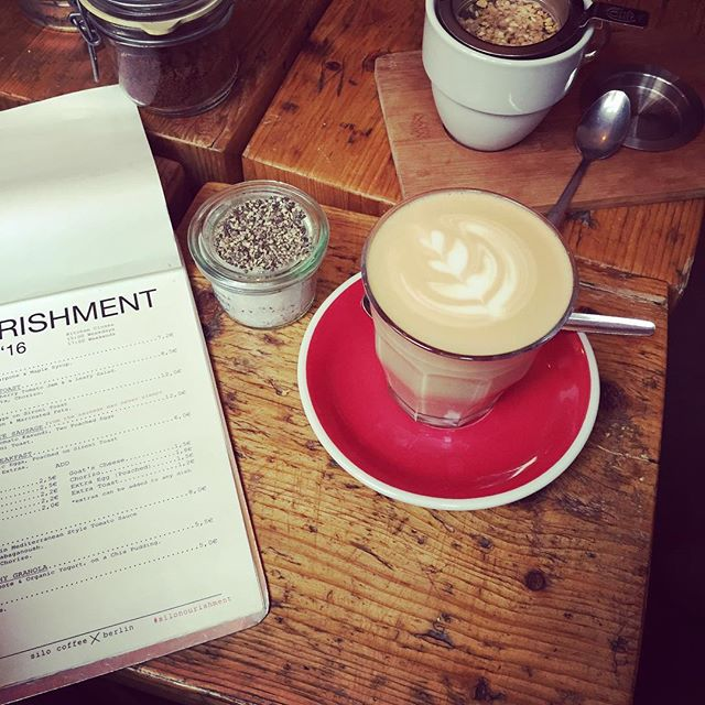 Coffee in Friedrichshain. No one in here speaks German #berlin #coffeelove