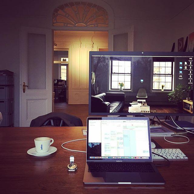 Office love ️ on tour. Today: Fuenfwerken Wiesbaden (courtesy of Holger) #fuenfwerken #wiesbaden