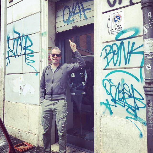 Olaf in Trastevere #romelove