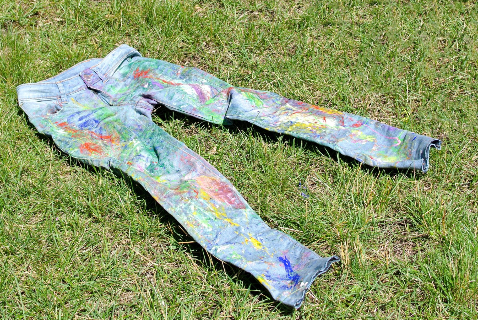 DIY Painter Jeans 7