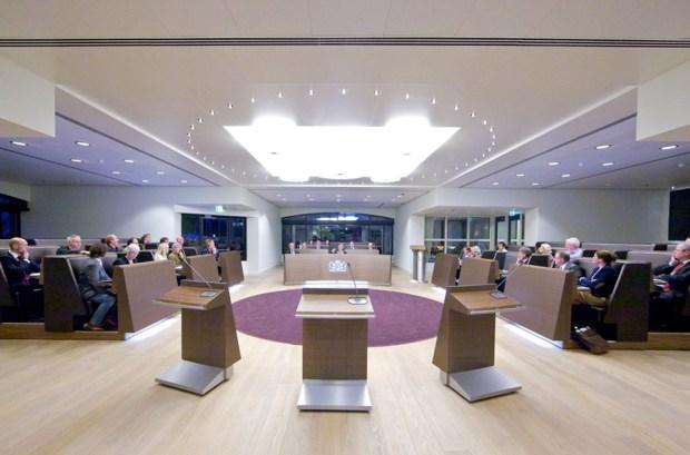 Raadszaal Harderwijk - overzicht