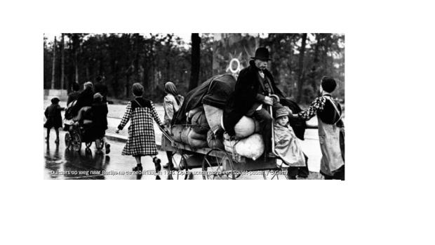 duitsers vluchten 1945