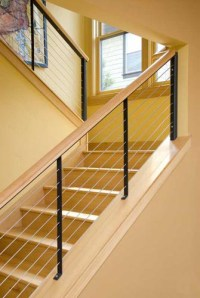 Cable stair railings: What to consider?   Kris Allen Daily