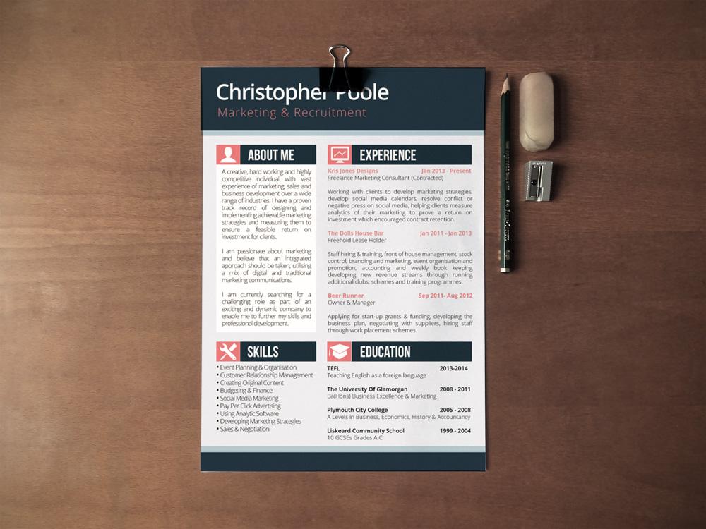 Cv Design - Kris Jones Designs