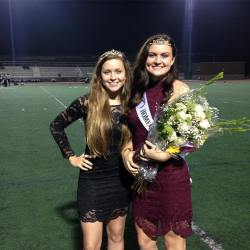 Homecoming Queen, Emma and Homecoming Duchess, Eliana