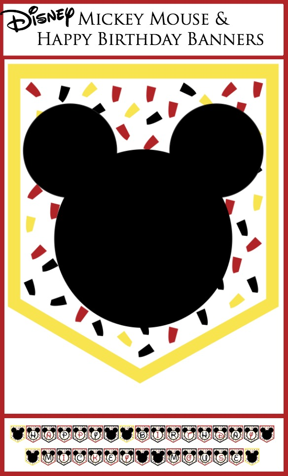 Disney Party Banners - Capturing Joy with Kristen Duke