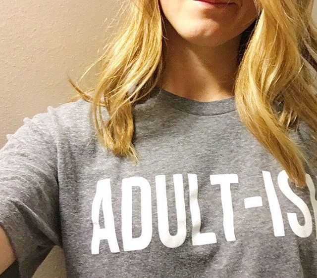 This shirt feels about right today