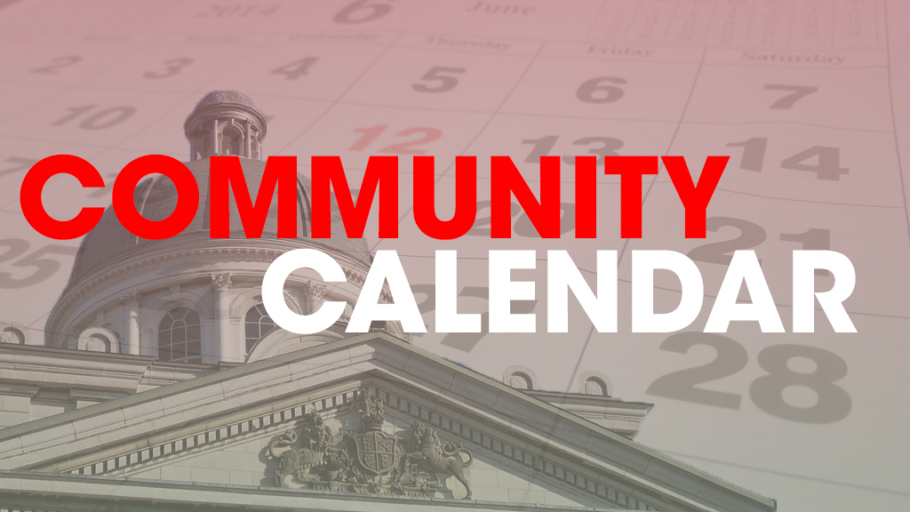 Community Calendar November 19 - 25, 2018 - K-Rock 1057