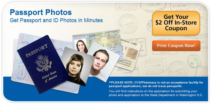 passport photo cvs cost