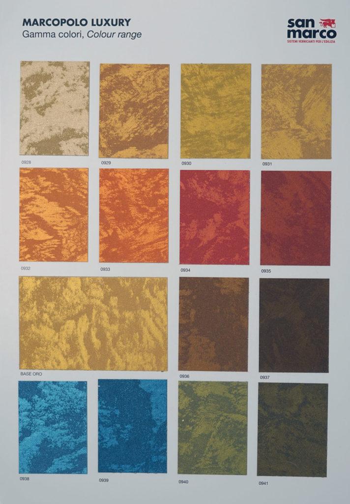 Marcopolo Luxury Colour Range - krome refurbishing