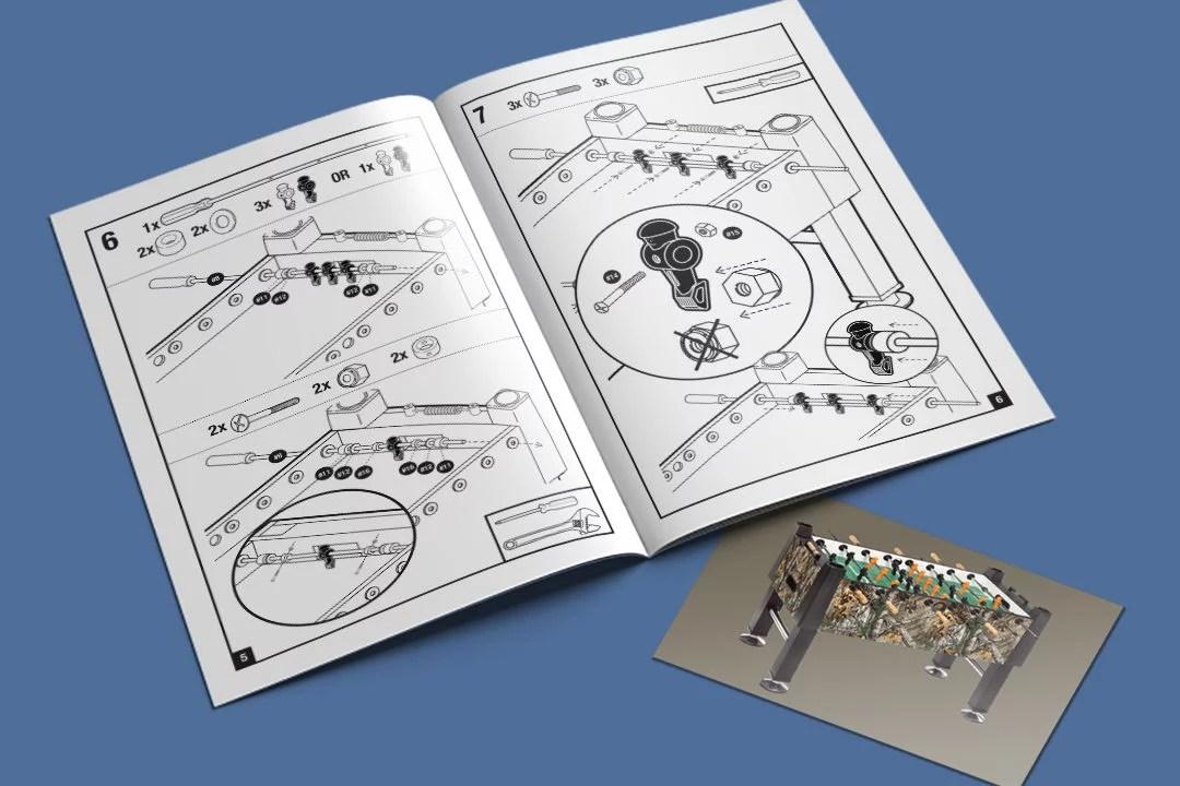 Carrom Instructional Manual Kruse Design