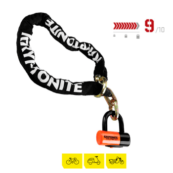 Cadena Kryptonite New York Chain Noose 1213/NY Disk lock