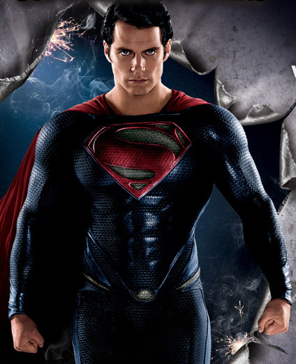 Only two months are left until Man Of Steel! If you missed the photos