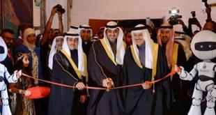 ممثل الامير والزياني والخرافي في حفل افتتاح المعرض الدولي التاسع للاختراعات في الشرق الاوسط