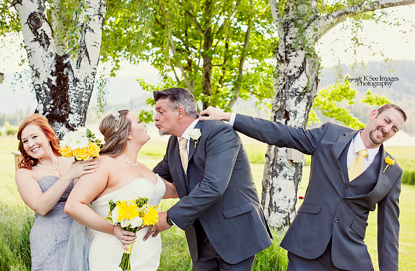 Funny Wedding Photography Bridal Party K See