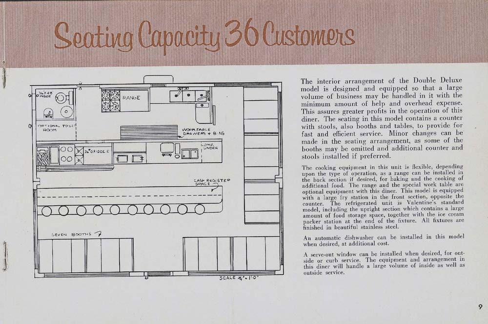 Valentine Diners Floor Plan American Diner Pinterest Diners - technical writing resume