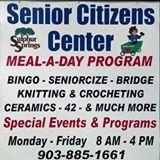No Line Dancing to the Senior Center Today!