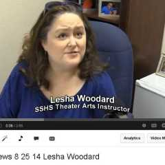 Lesha Woodard SSHS Theater Arts Instructor
