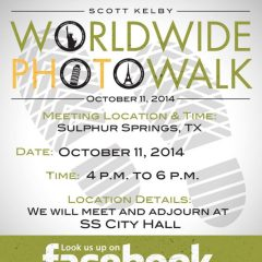 Worldwide Photo Walk October 11, 2014 in Sulphur Springs