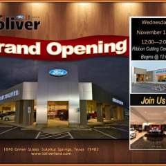 Brian Toliver Ford Grand Opening On Wednesday