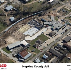 Aerial Pictures of the New Jail Site, January 5th, 2015